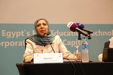 داليا إبراهيم والتعليم في مصر