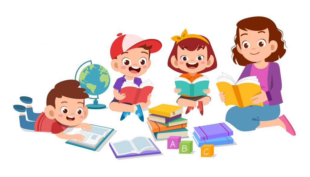 الطلاب والمدرسة - المنتسوري