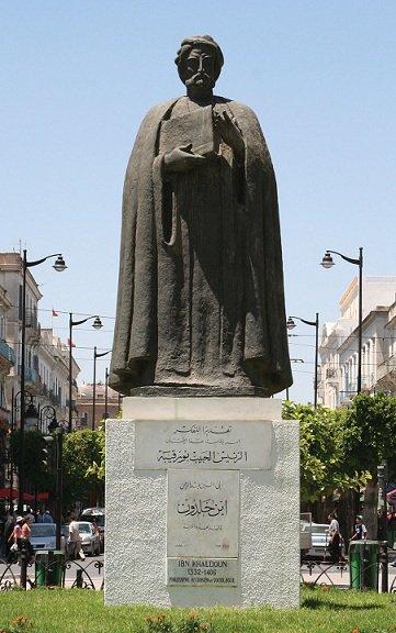 المفكر ابن خلدون - في تونس